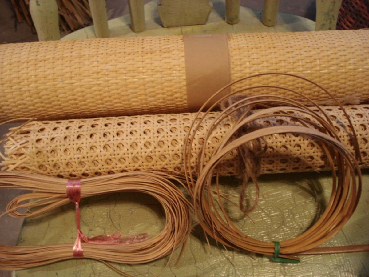 Cane Weaving Preparing Tools Amp Patterns Feltmagnet