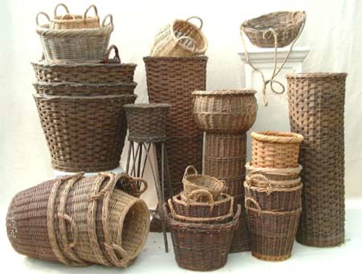 Types of Woven Baskets