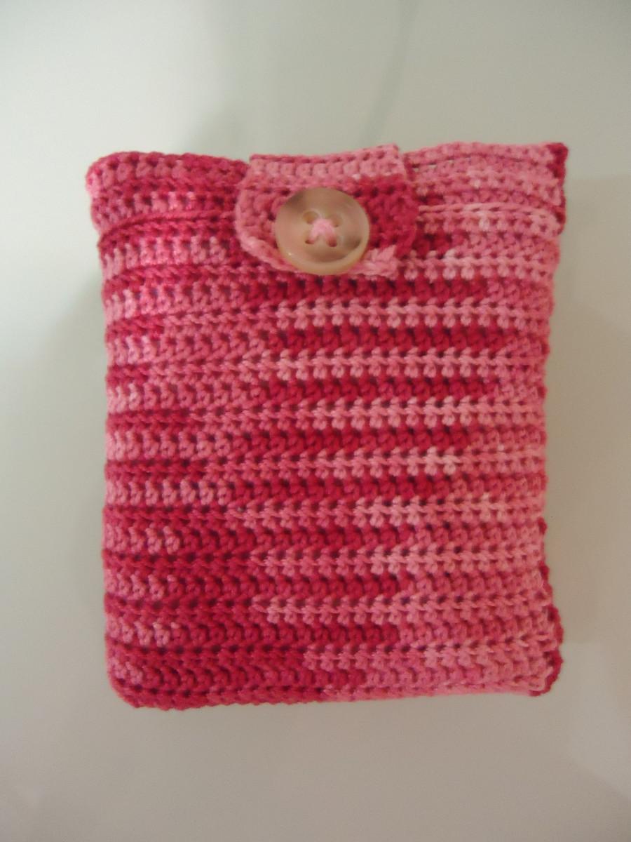 DIY Crochet Cozy for a Sanitary Pad
