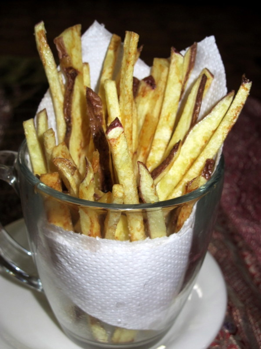 How to Make Crispy, Homemade French Fries