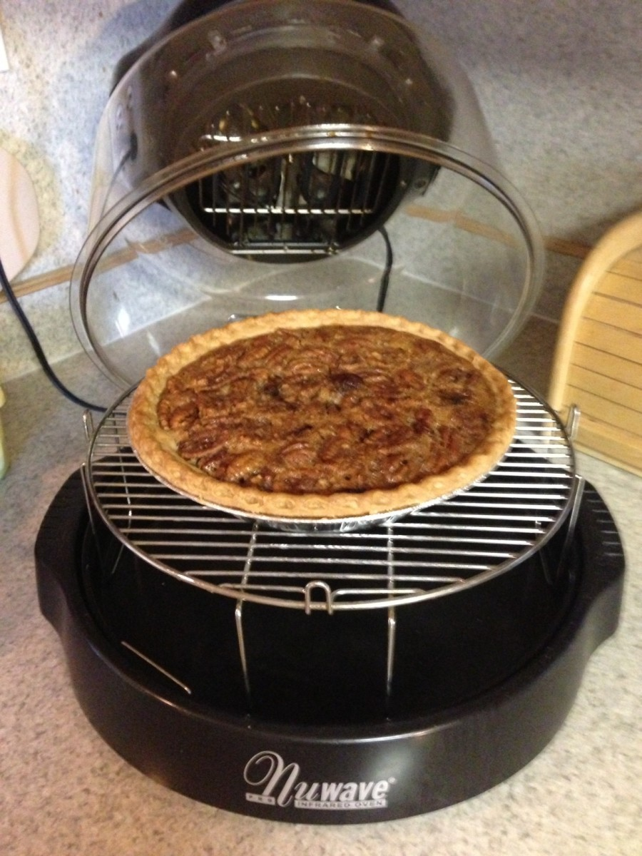 NuWave Oven Pro Easy Chocolate Pecan Pie Recipe