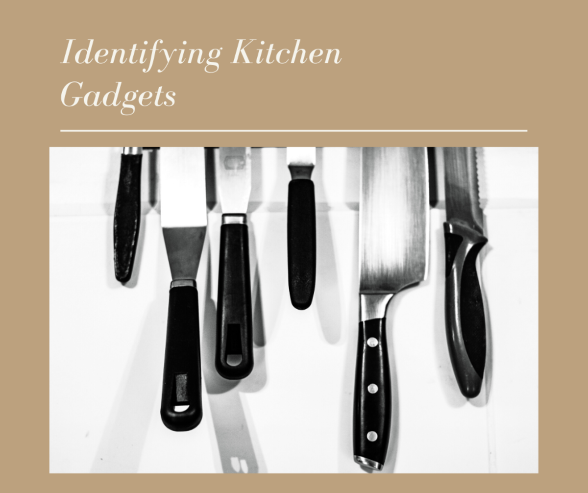 Let's Identify Some Kitchen Gadgets