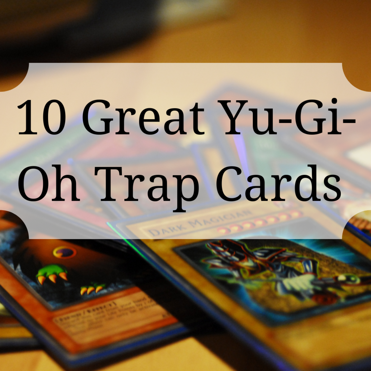 Learn about some great trap cards to use in your Yu-Gi-Oh deck!