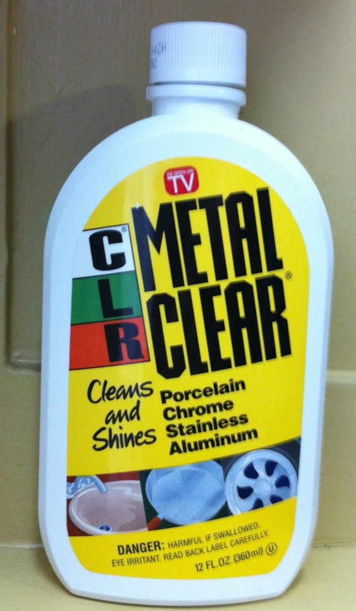 Cleaning Stainless Steel With CLR Metal Clear Cleaner