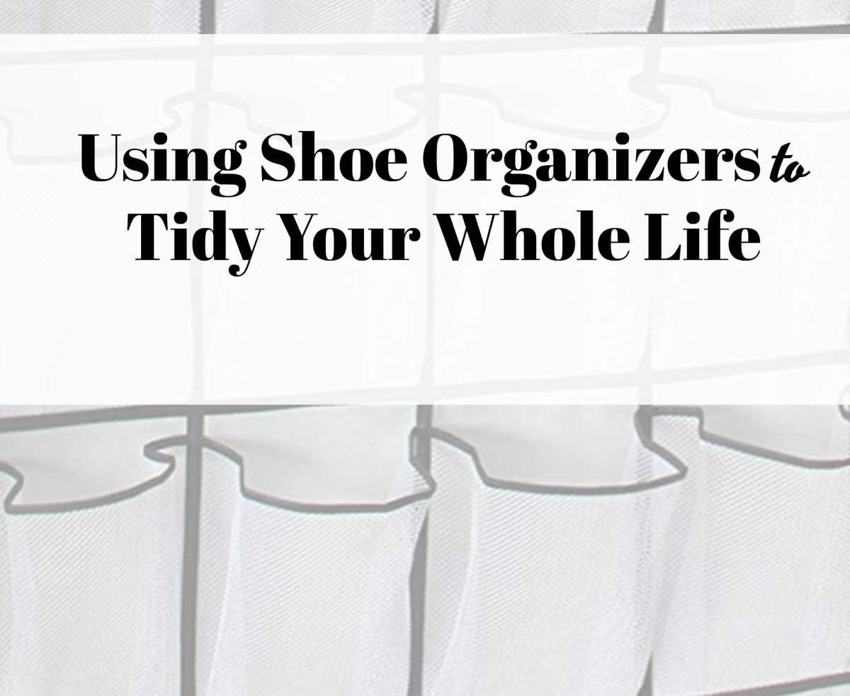Storage Solutions: Alternative Uses for Shoe Organizers