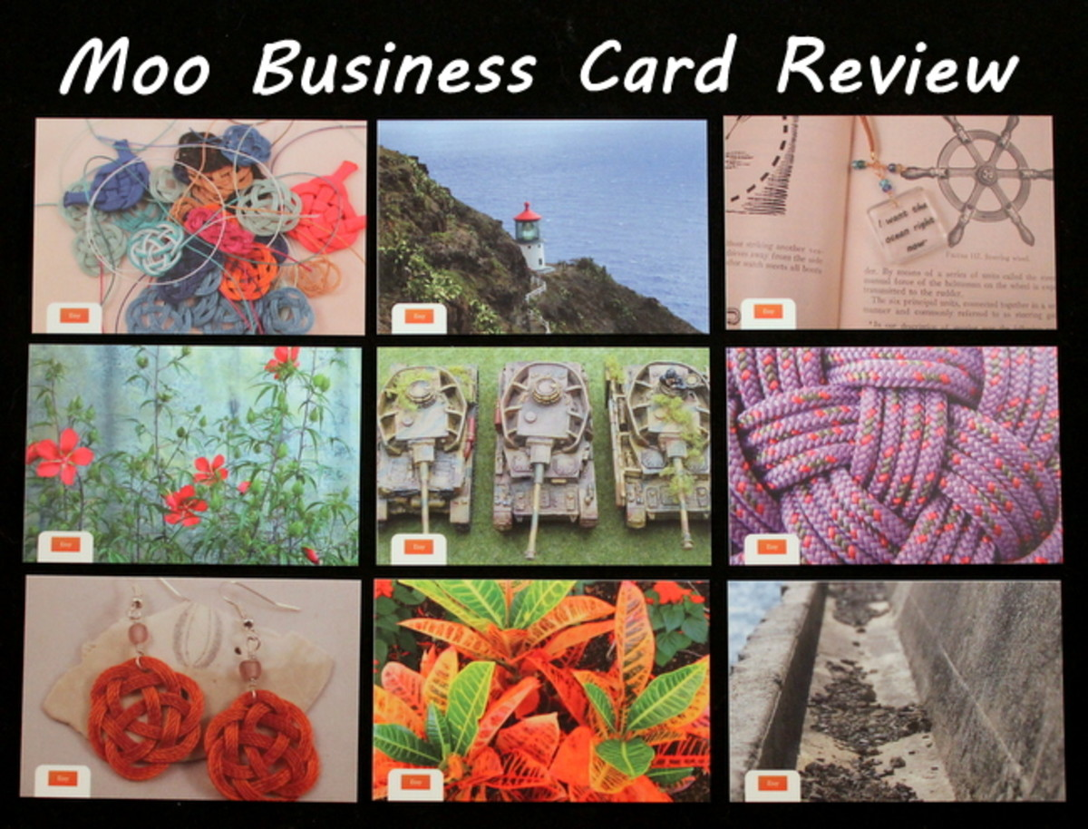 Review of Moo Printing Company Premium Business Cards