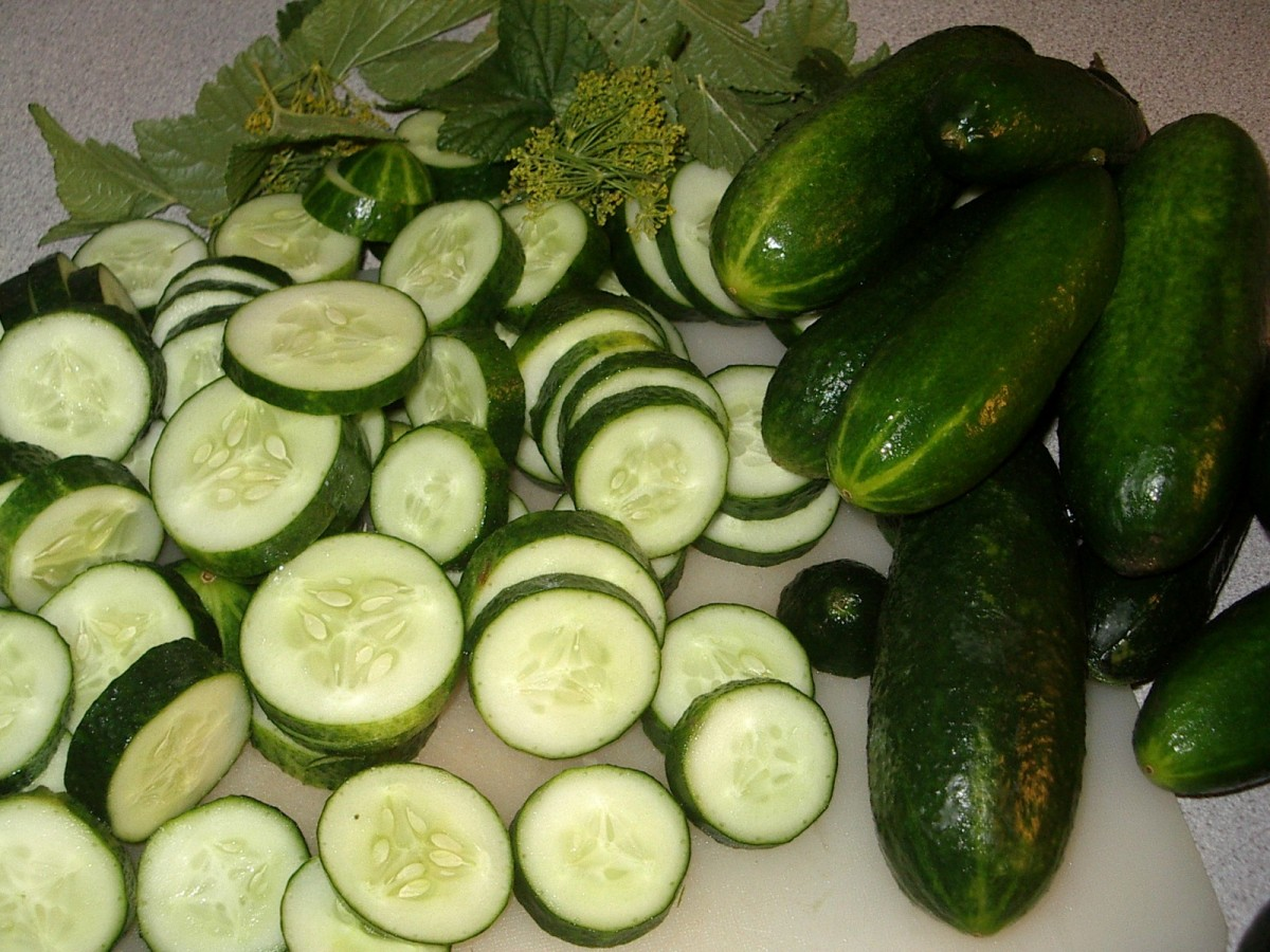 cucumbers naturally hydrate the skin