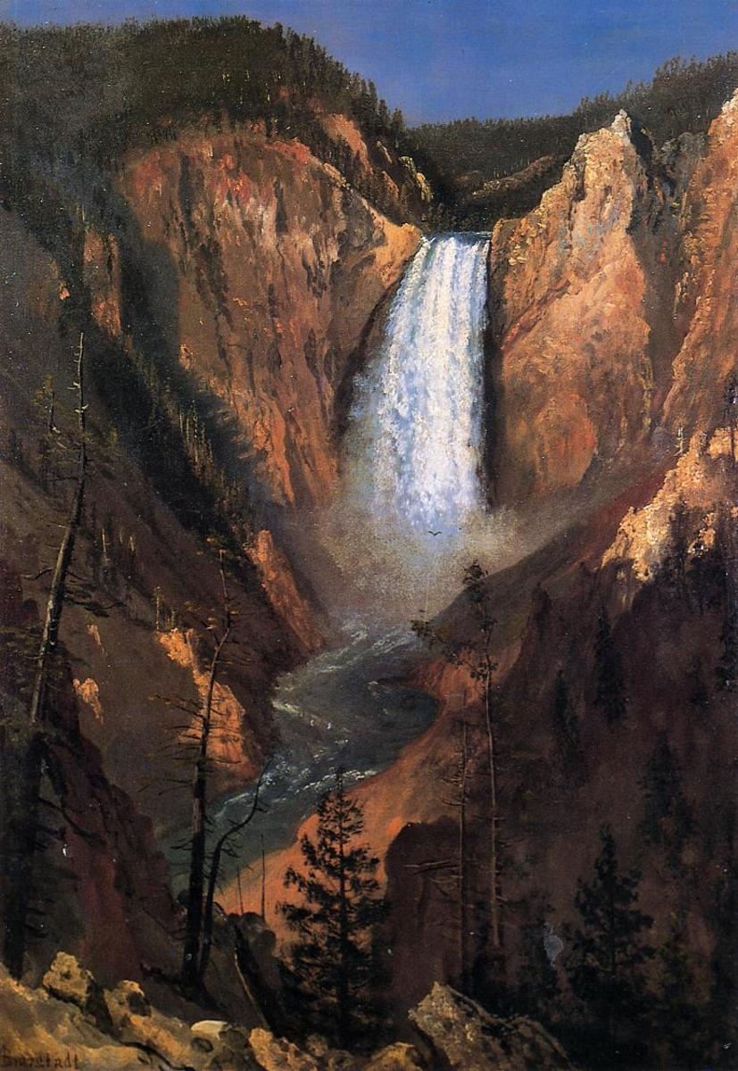 It started with art: Paintings like this one inspired Congress and the general public to create the National Park System and preserve America's wilderness.