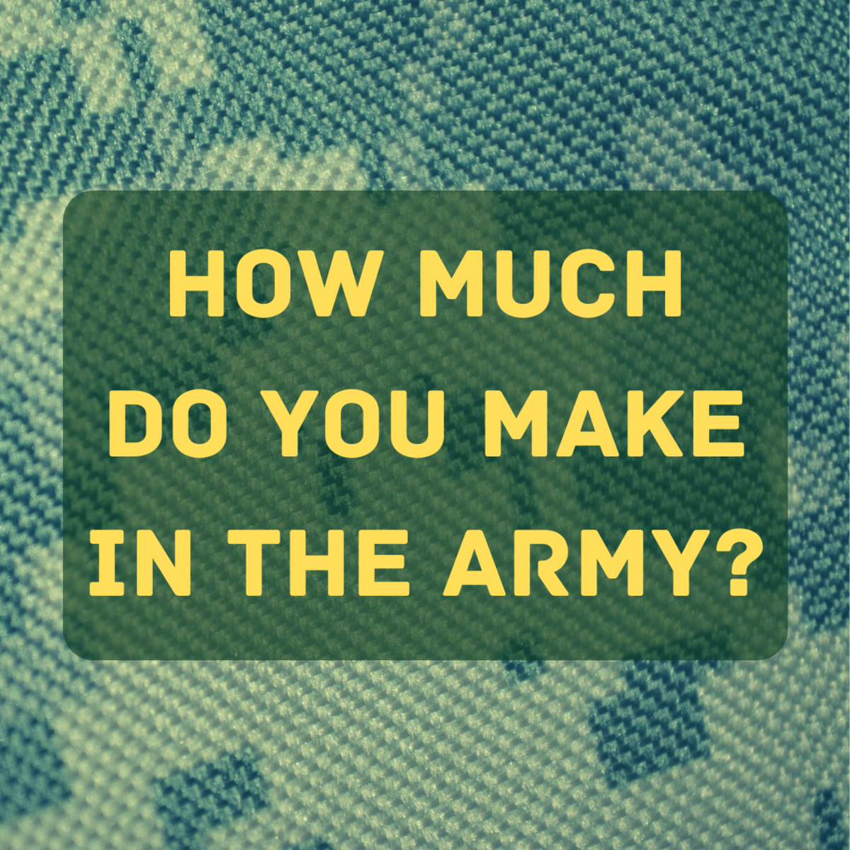 Is the Army Worth Joining: Military Pay vs. Civilian Pay
