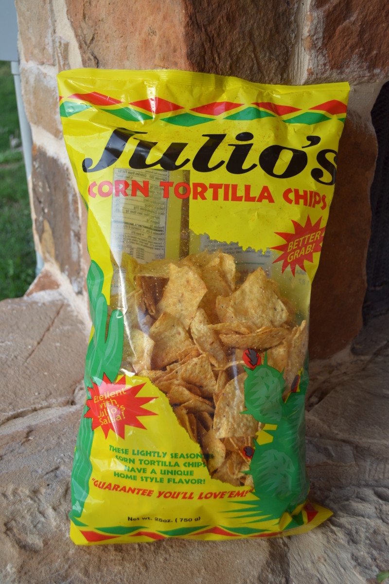 Julio's Chips are the best I've found outside of the freshly made chips found at Mexican restaurants.