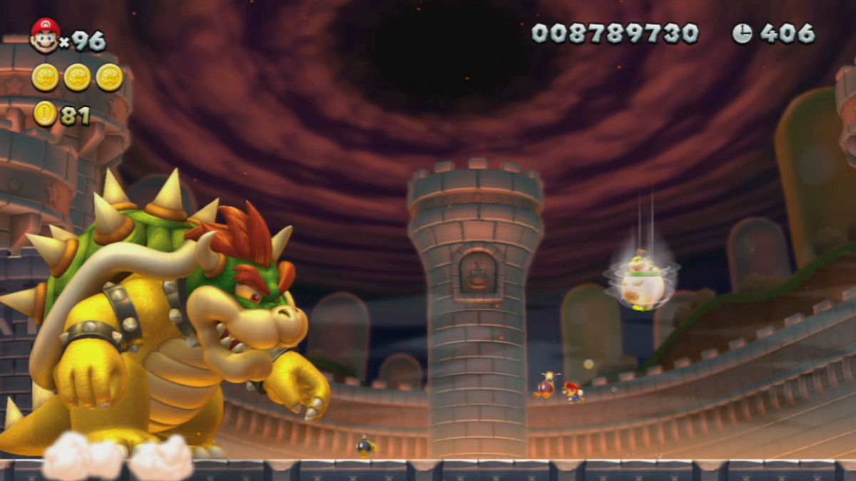 How To Beat Bowser In New Super Mario Bros Wii U Levelskip