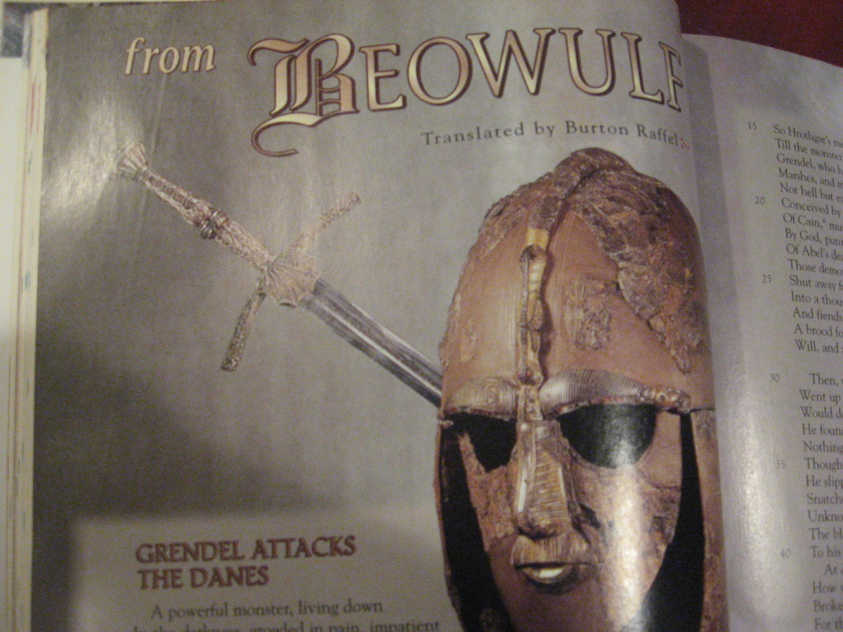 One of my translations of Beowulf.