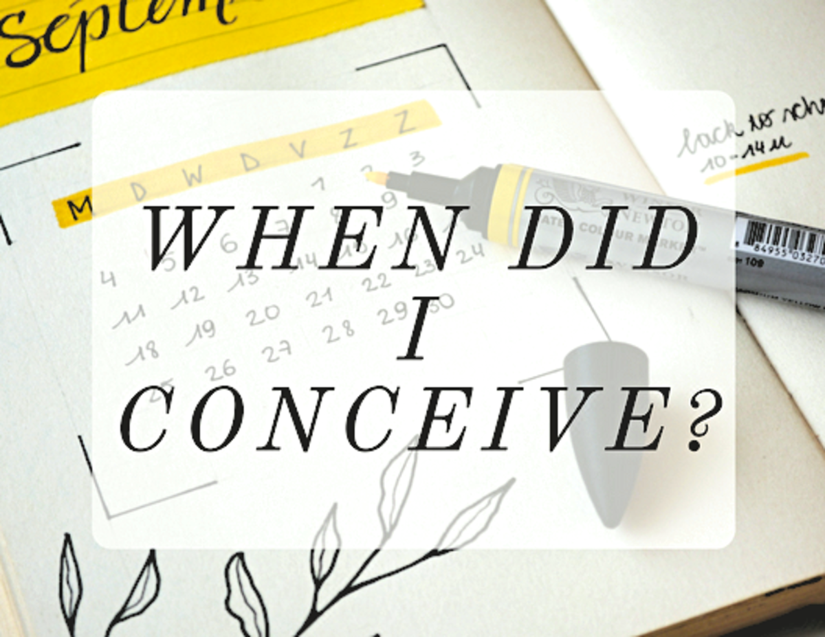 When did I conceive?