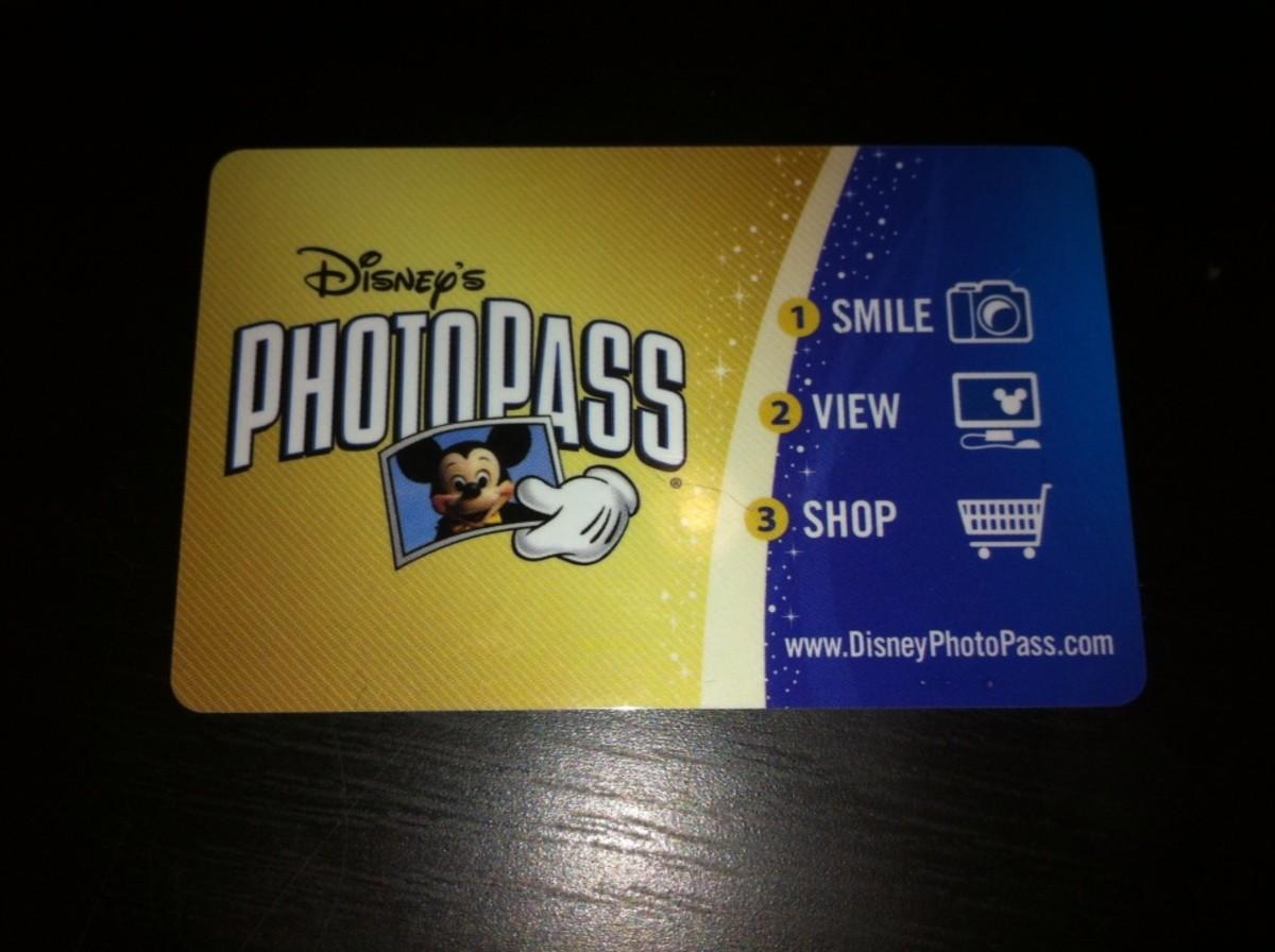 DisneyPhotoPass Card