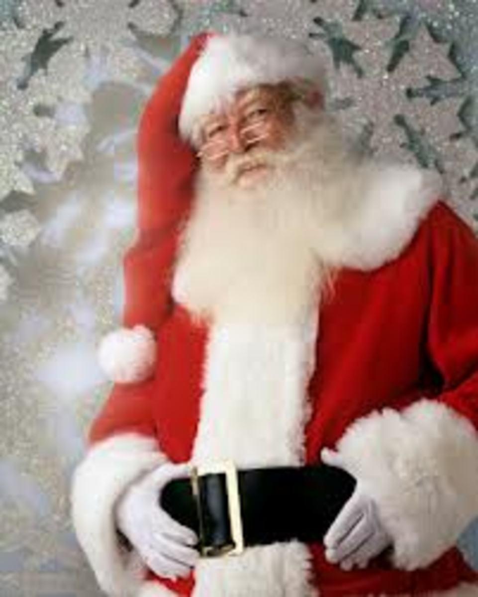 My Santa Claus date