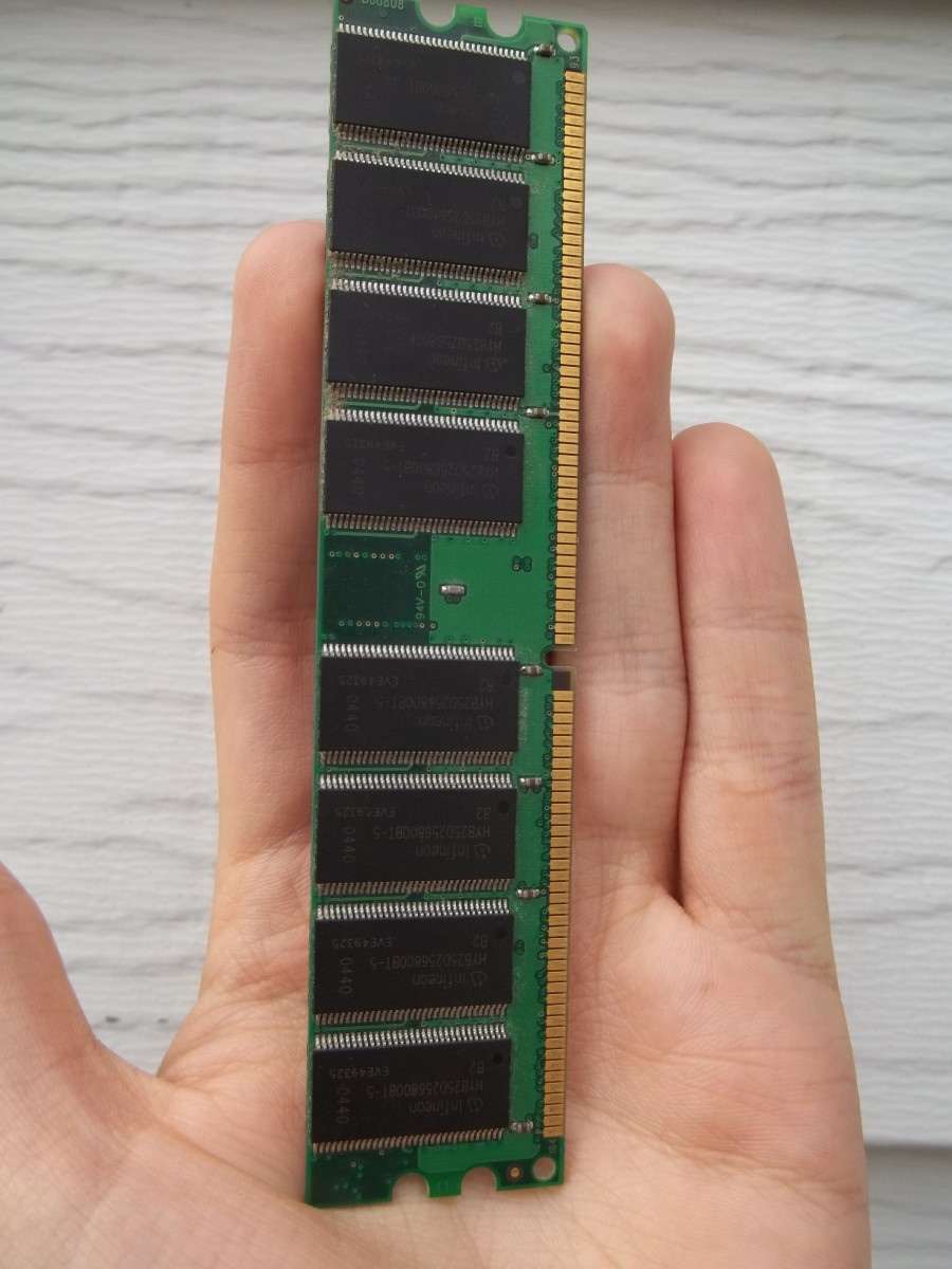 What does a RAM stick look like?