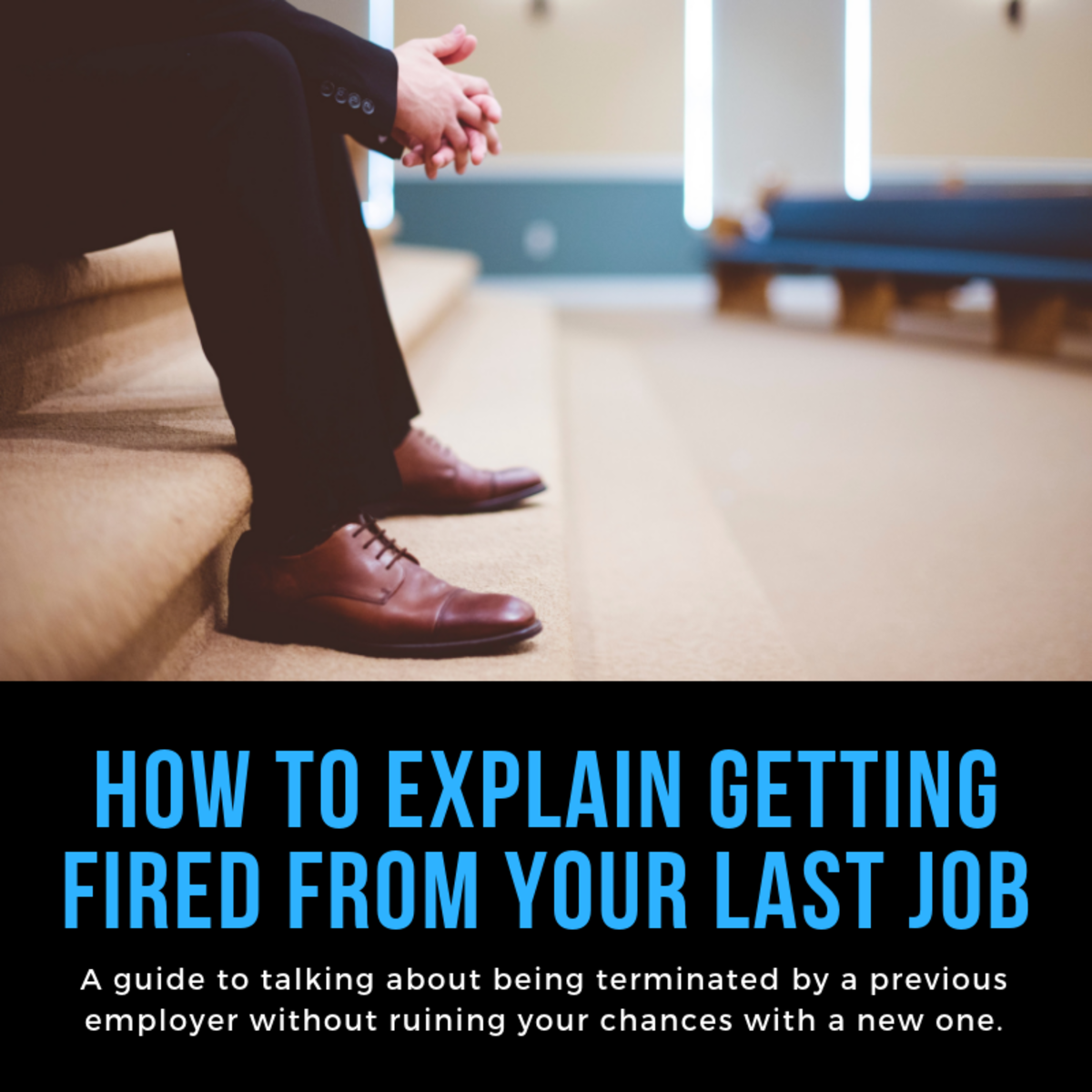 how to explain a past job termination on a resume
