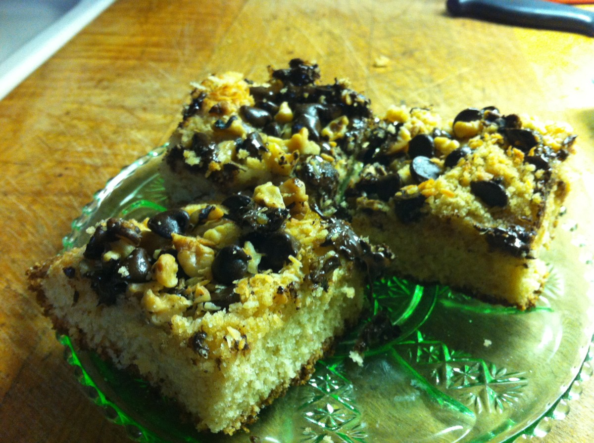 Toffee and Rocky Road Bars Recipe