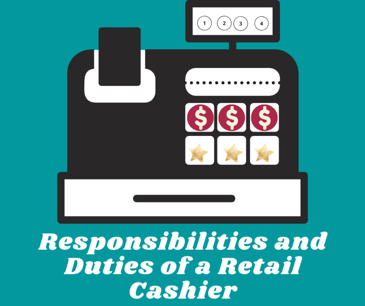 Read on to learn about the responsibilities and duties of a retail cashier.