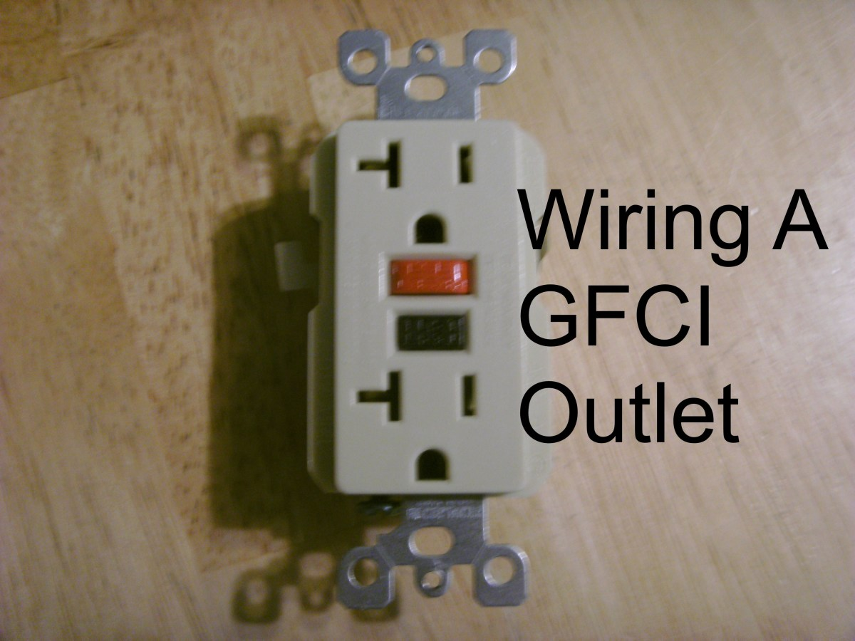 How To Install A Gfci Outlet Dengarden 20 Amp Breaker What Should Be Used Or Is 15