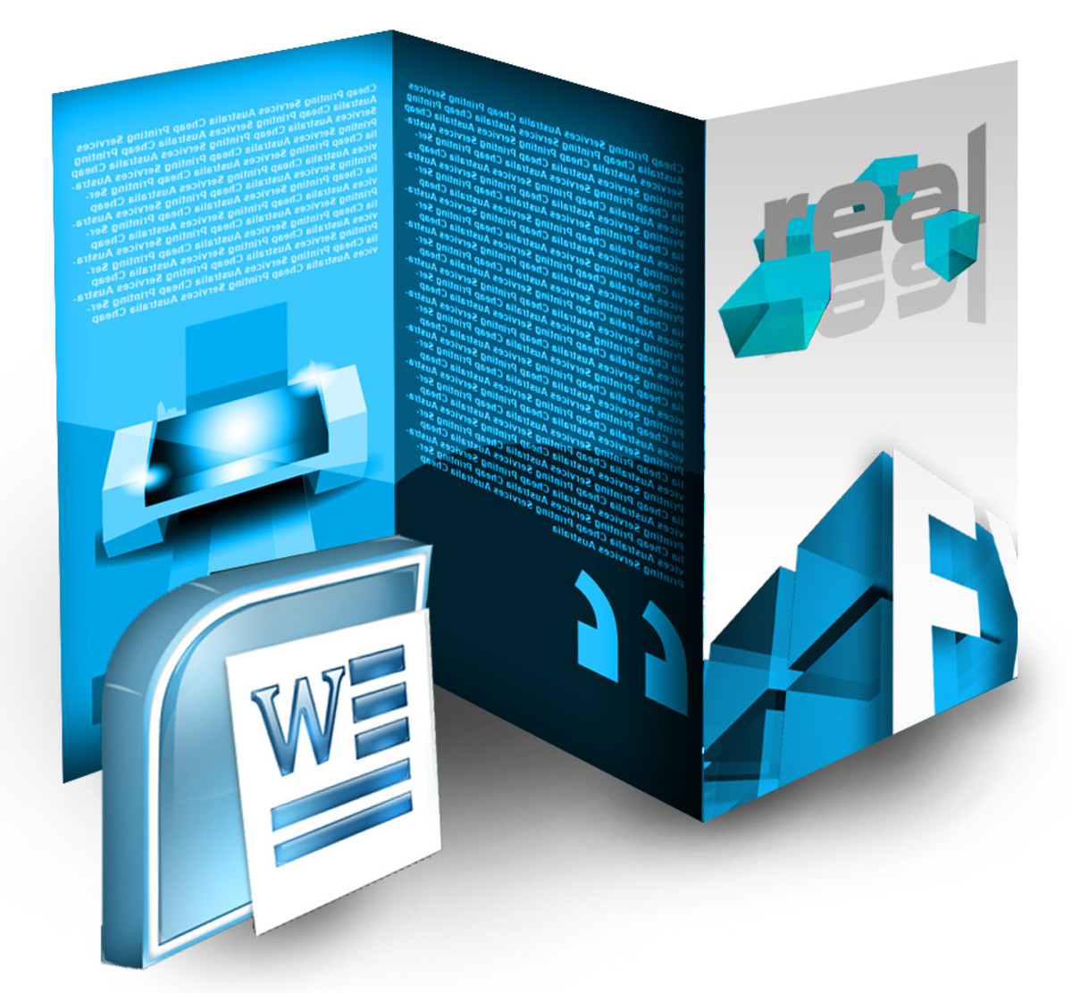 Create tri fold brochure using only microsoft word for How to design a brochure in word