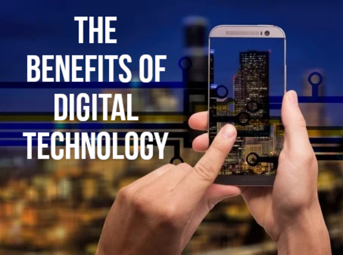 For a list of 16 positives of digital technology, read on...