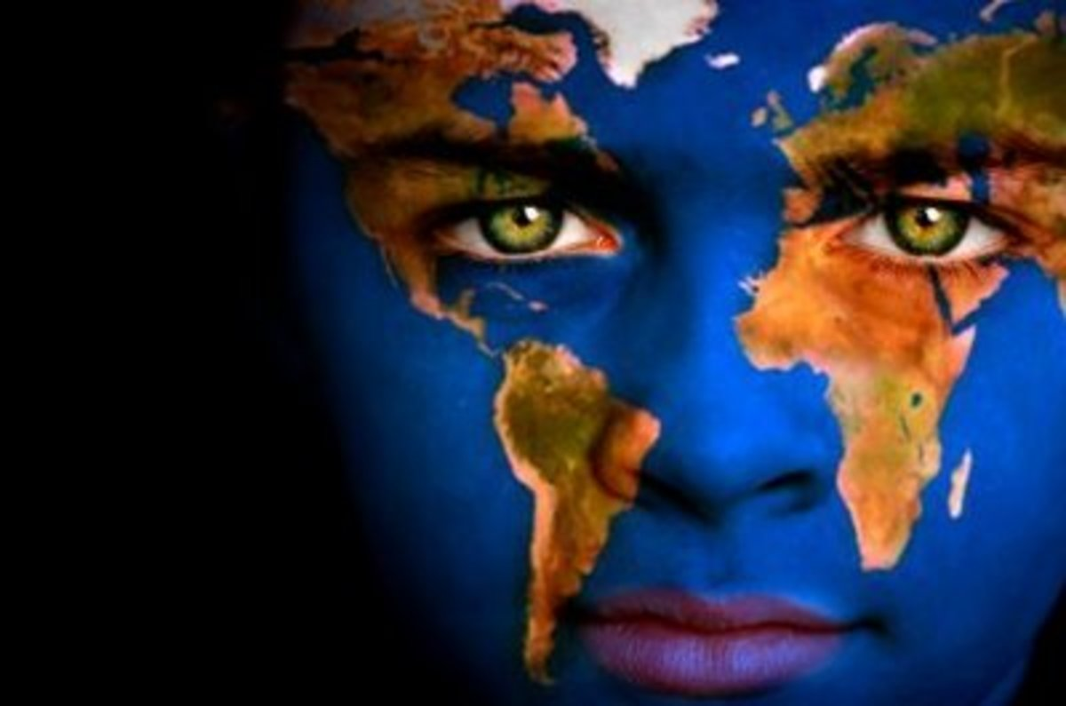 Regardless of our differences, we are the world and this world is for us all.