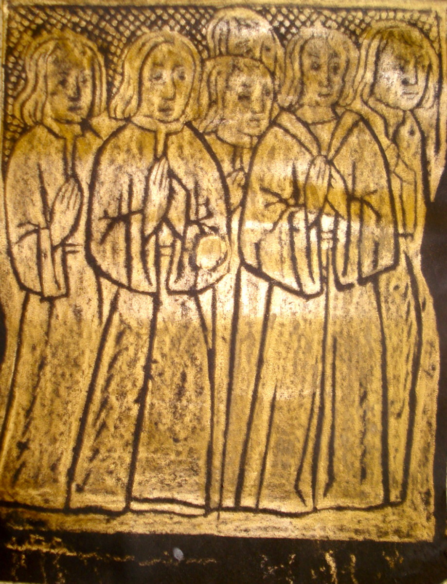 How to Do Brass-Rubbings