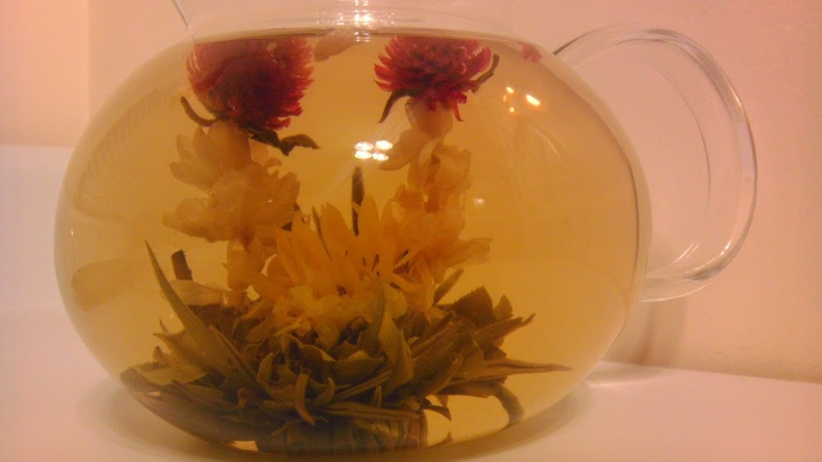 Sharing flowering tea is a very romantic way to show someone you care about them.