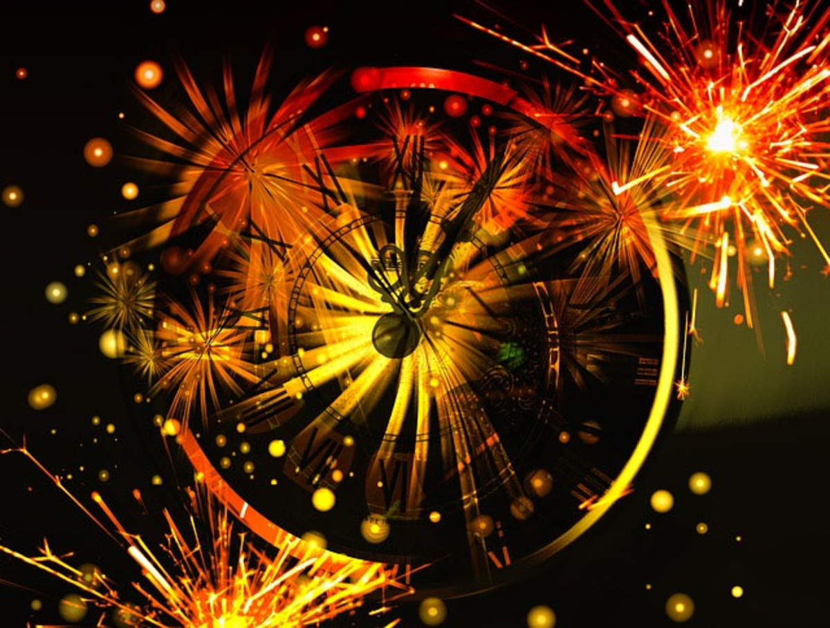 Simple Wiccan New Year Blessing Rite Without Tools or Supplies