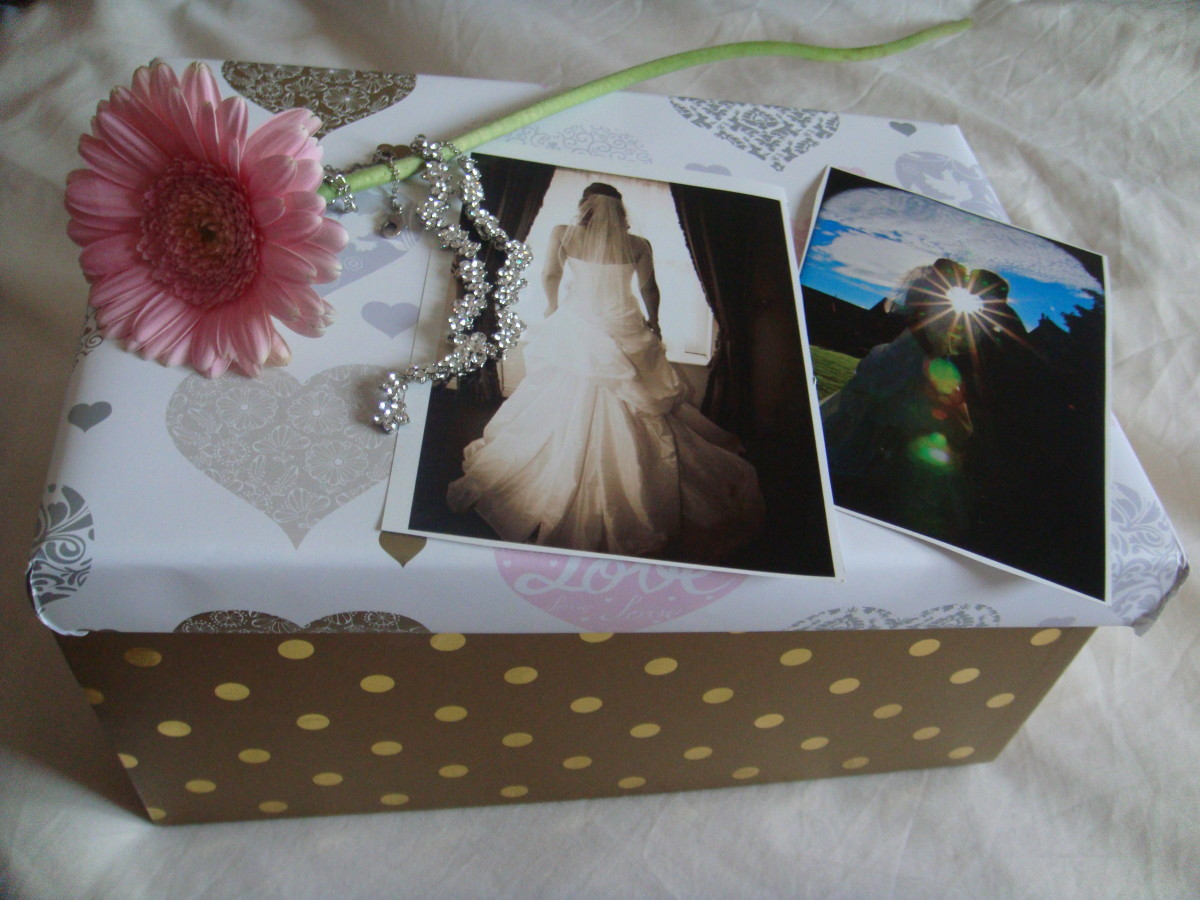 How to Make Your Own Wedding Keepsake Box