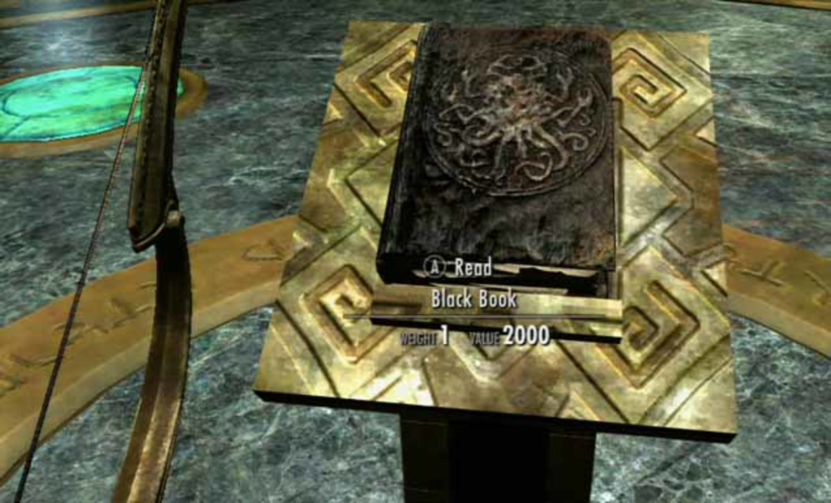 Skyrim Dragonborn Read the Black Book, reach Apocrypha, speak to Hermaeus Mora and learn the second word of Bend Will