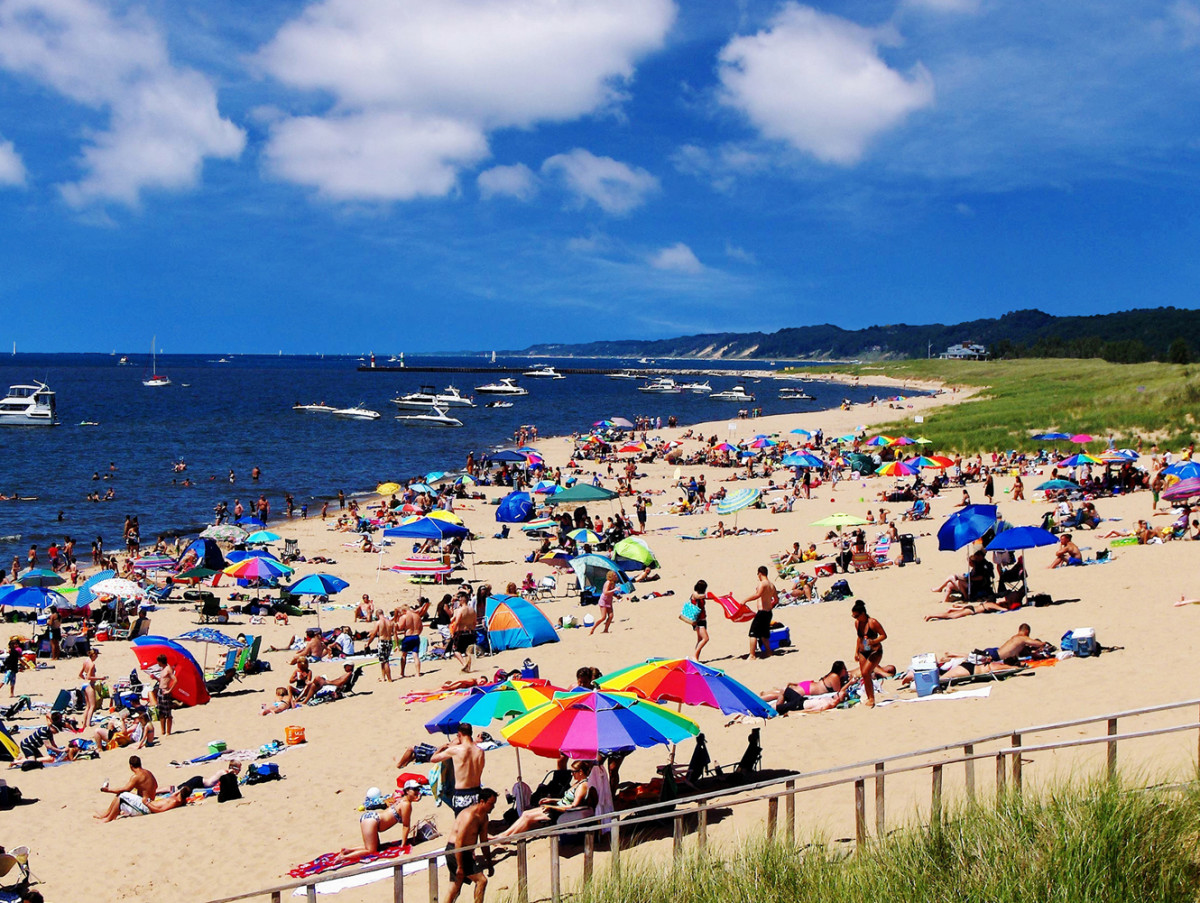 Summer Days at Oval Beach