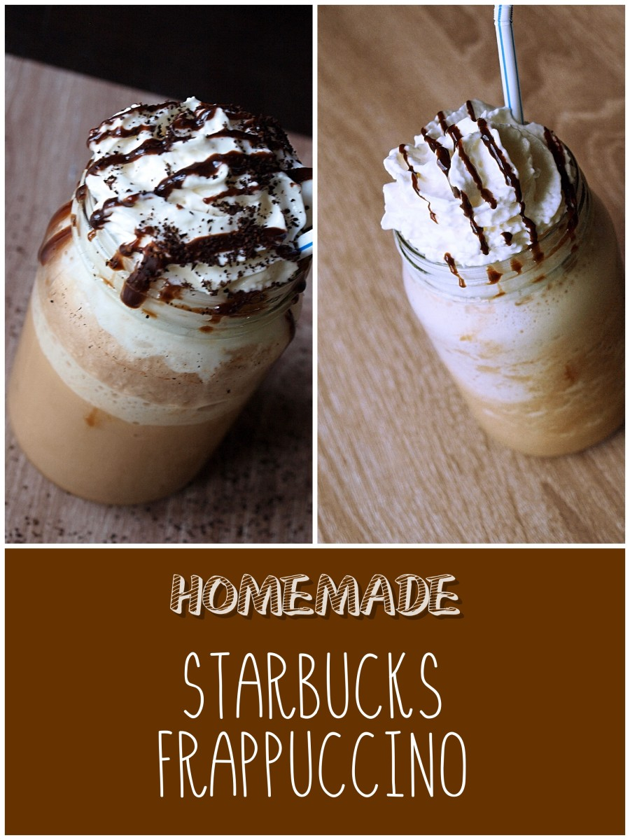 How to Make Homemade Starbucks Frappuccinos