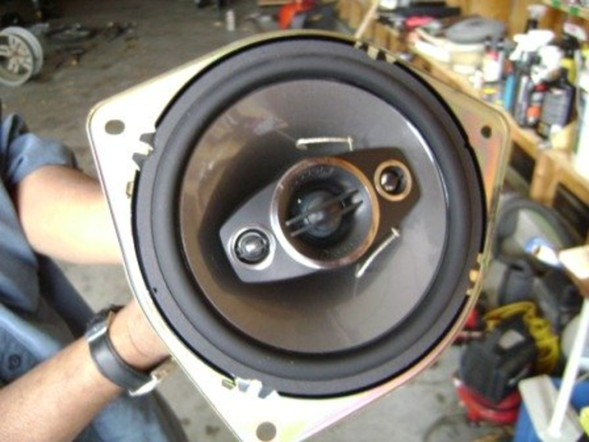 DIY Toyota Camry Front Speaker Replacement