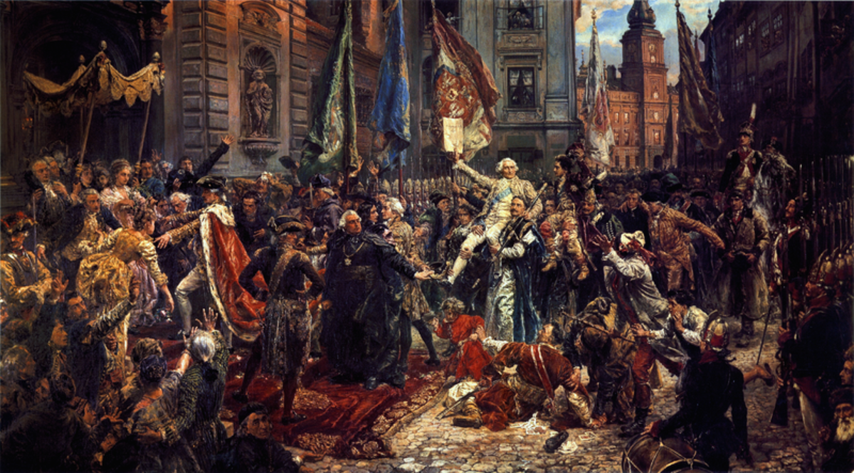 Constitution of May 3, 1791 by Jan Matejko. Major political changes had great impact on the lives of our ancestors.