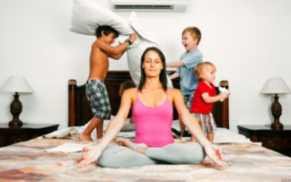 Motherhood and Stress Relief