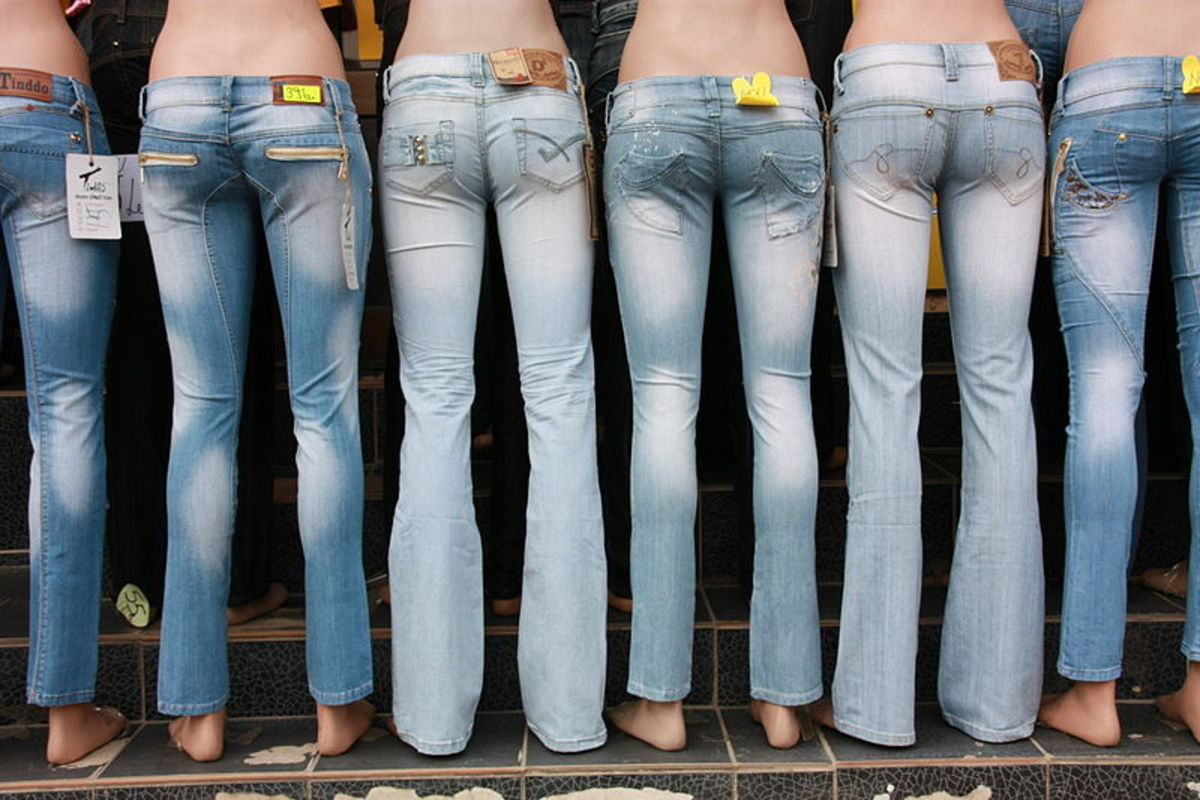 How to Select the Right Size Jeans | Bellatory