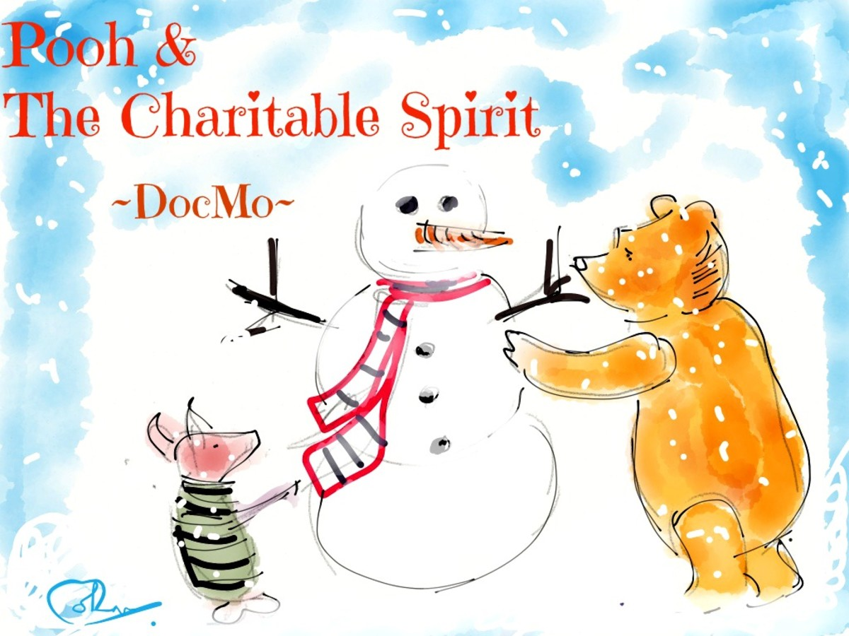 A Story About Pooh and The Christmas Spirit