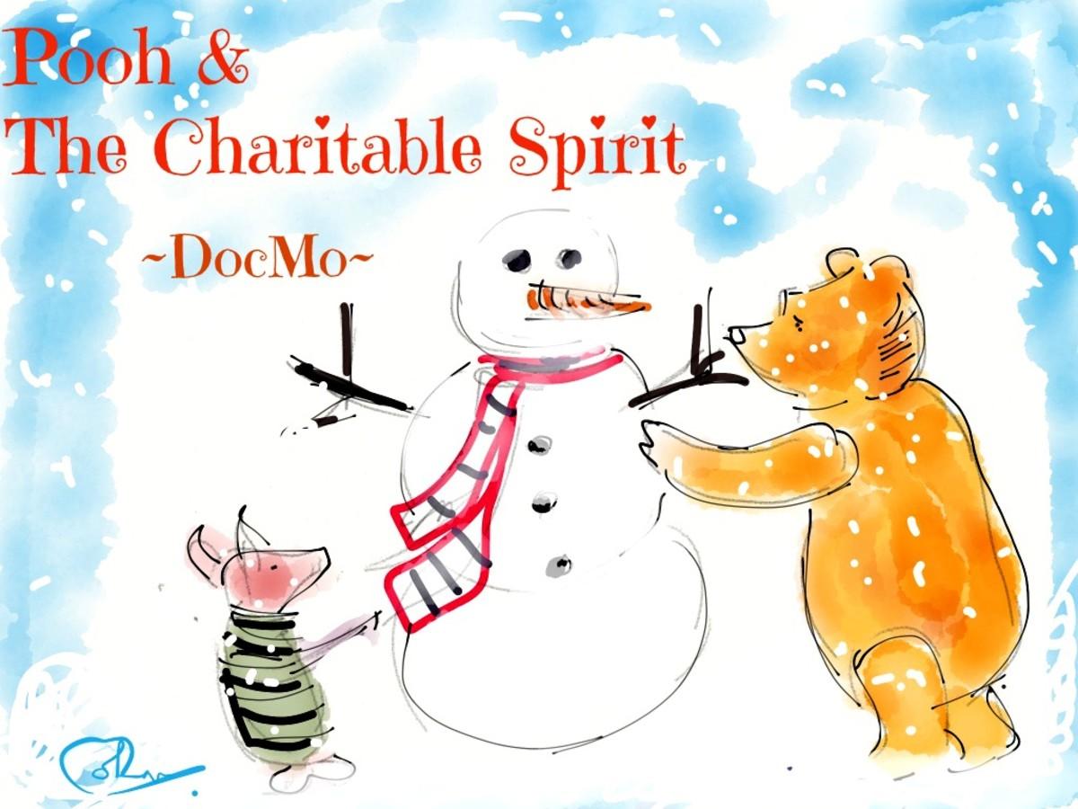 Winnie the Pooh & Piglet build a Snowman