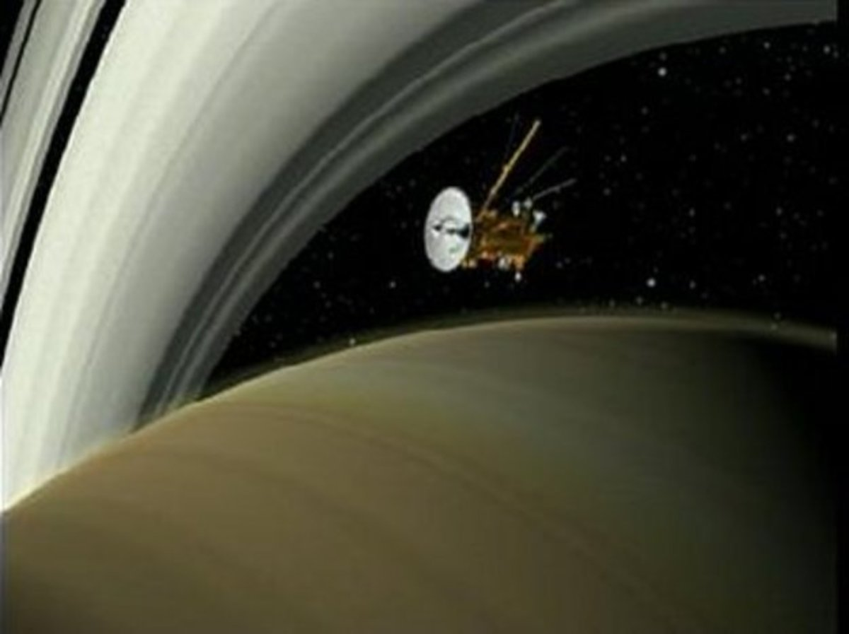 The Cassini-Huygens Space Probe and Its Mission to Explore Saturn and Its Rings