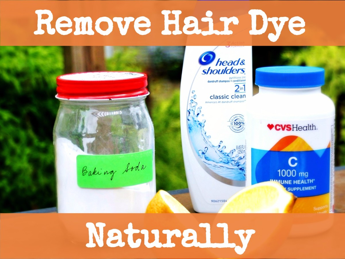How to Naturally Remove Hair Dye With Baking Soda, Vitamin C, and Vinegar