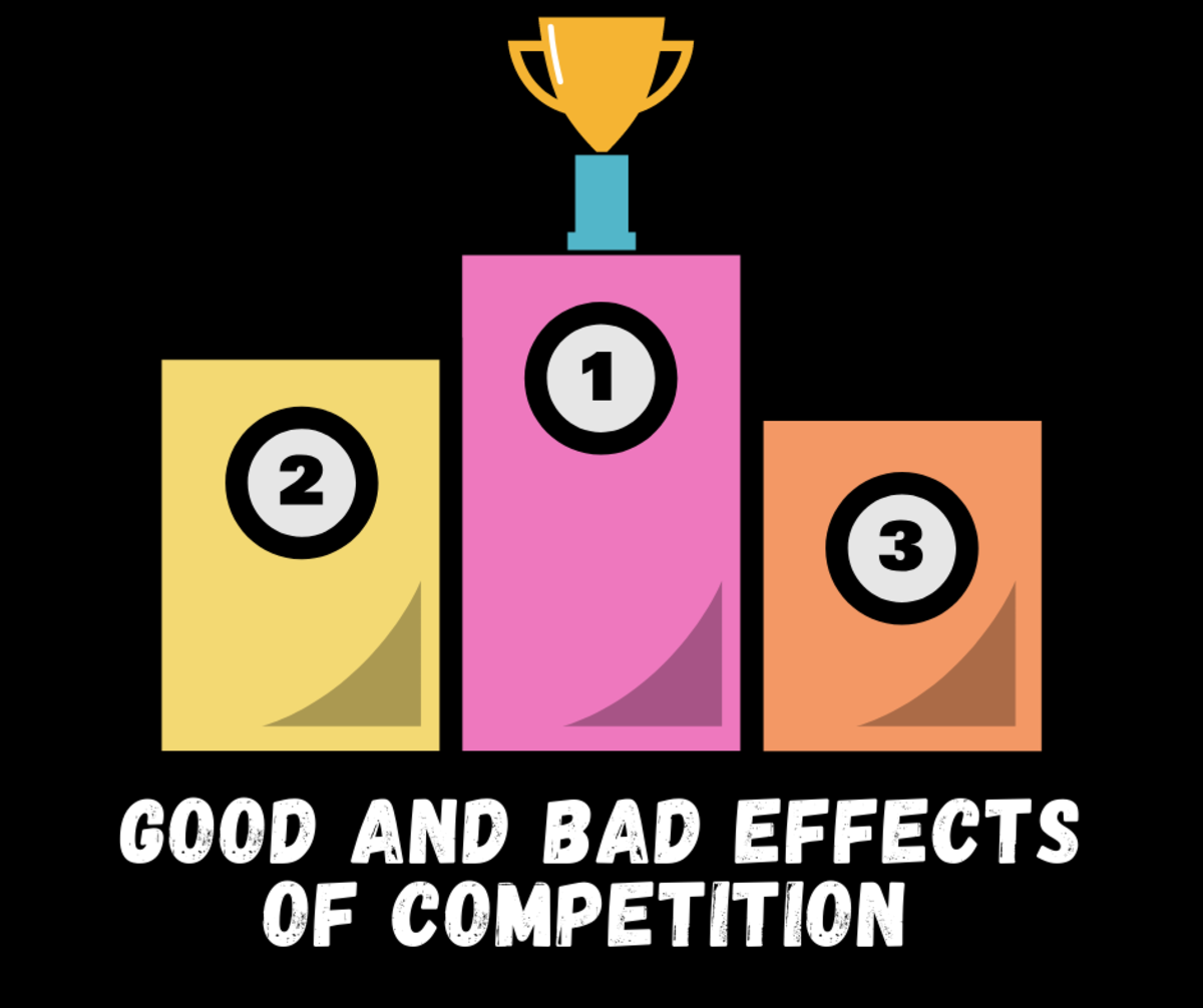 Good and Bad Effects of Competition for Large and Small Businesses