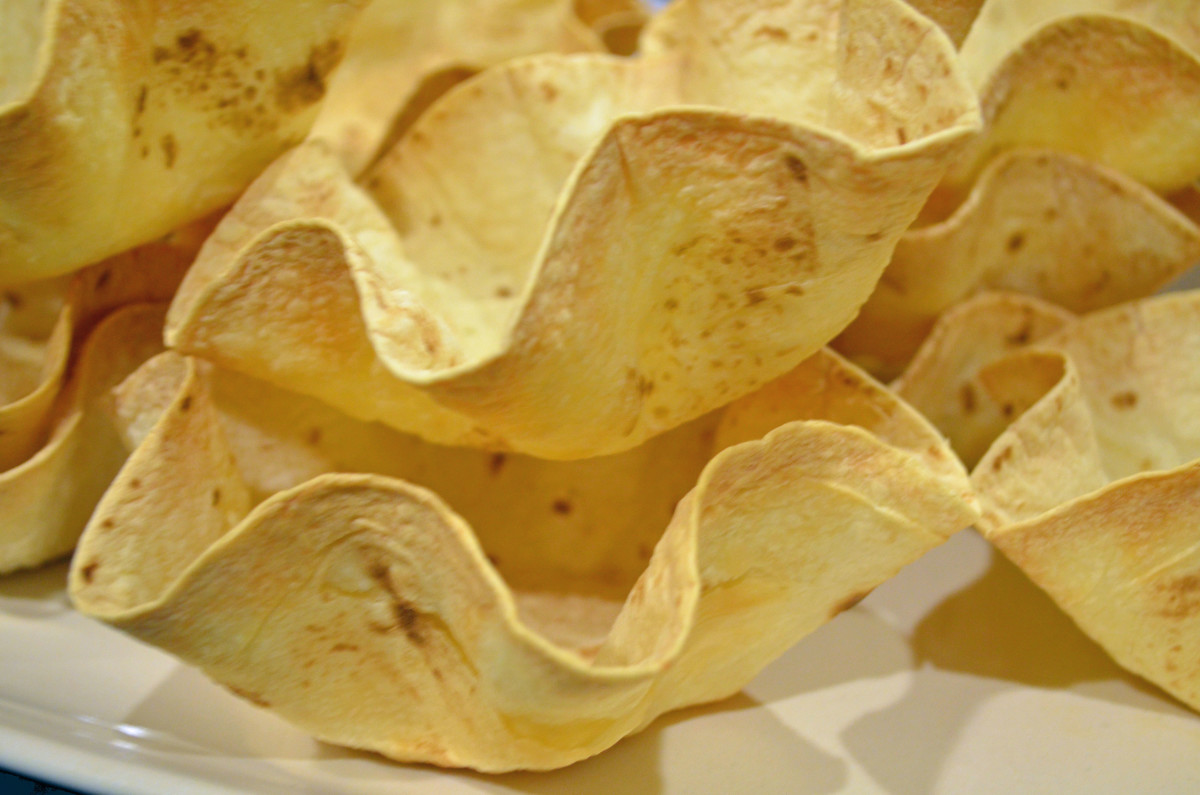 Use tortilla bowls in all kinds of recipes.