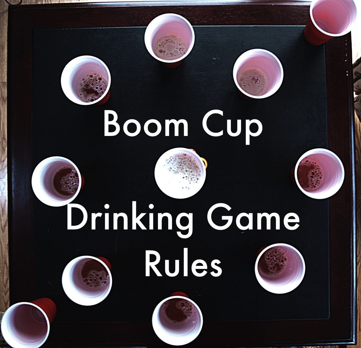 Find out how to play Boom Cup, a great drinking game for parties that will leave you buzzed but not drunk.