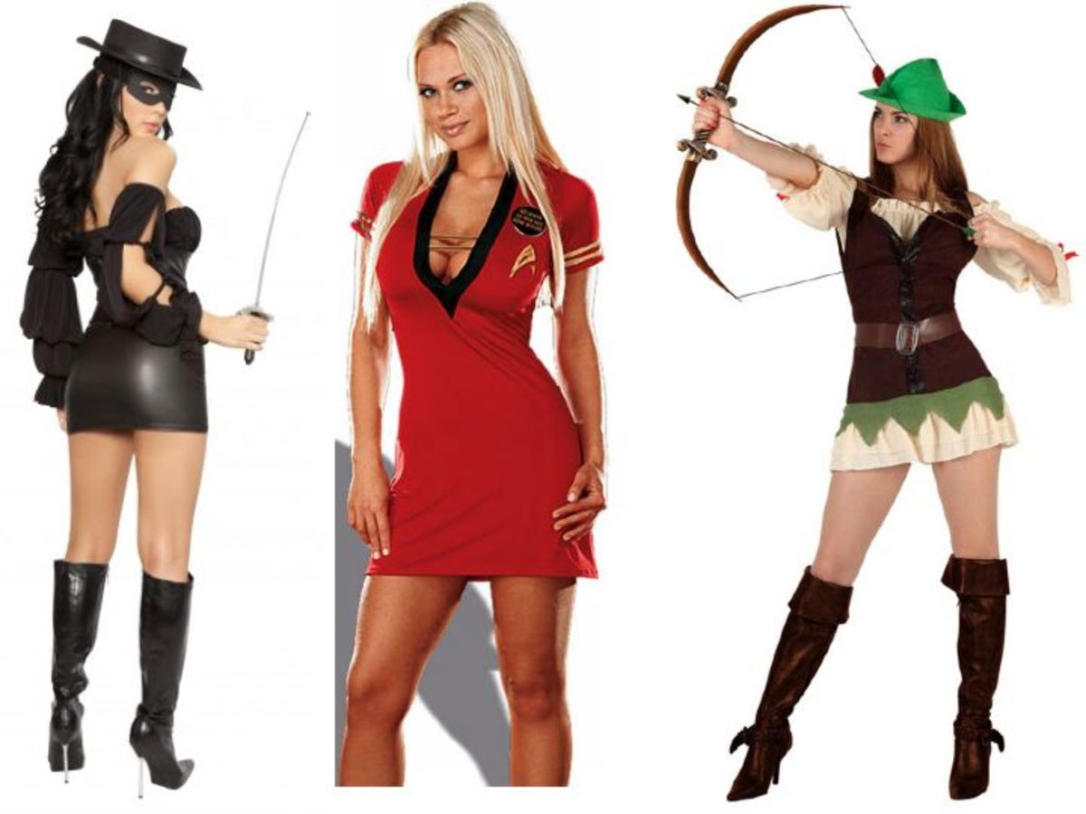 Movie Halloween Costumes Men vs Women