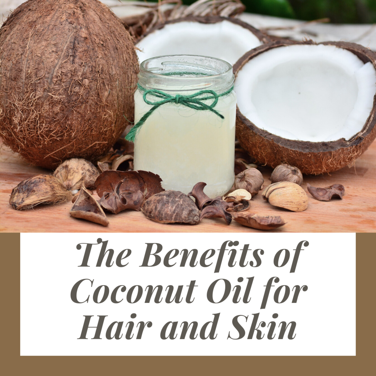 Aside from a host of benefits when consumed internally, coconut oil is also one of the very best moisturizers for your skin and hair.