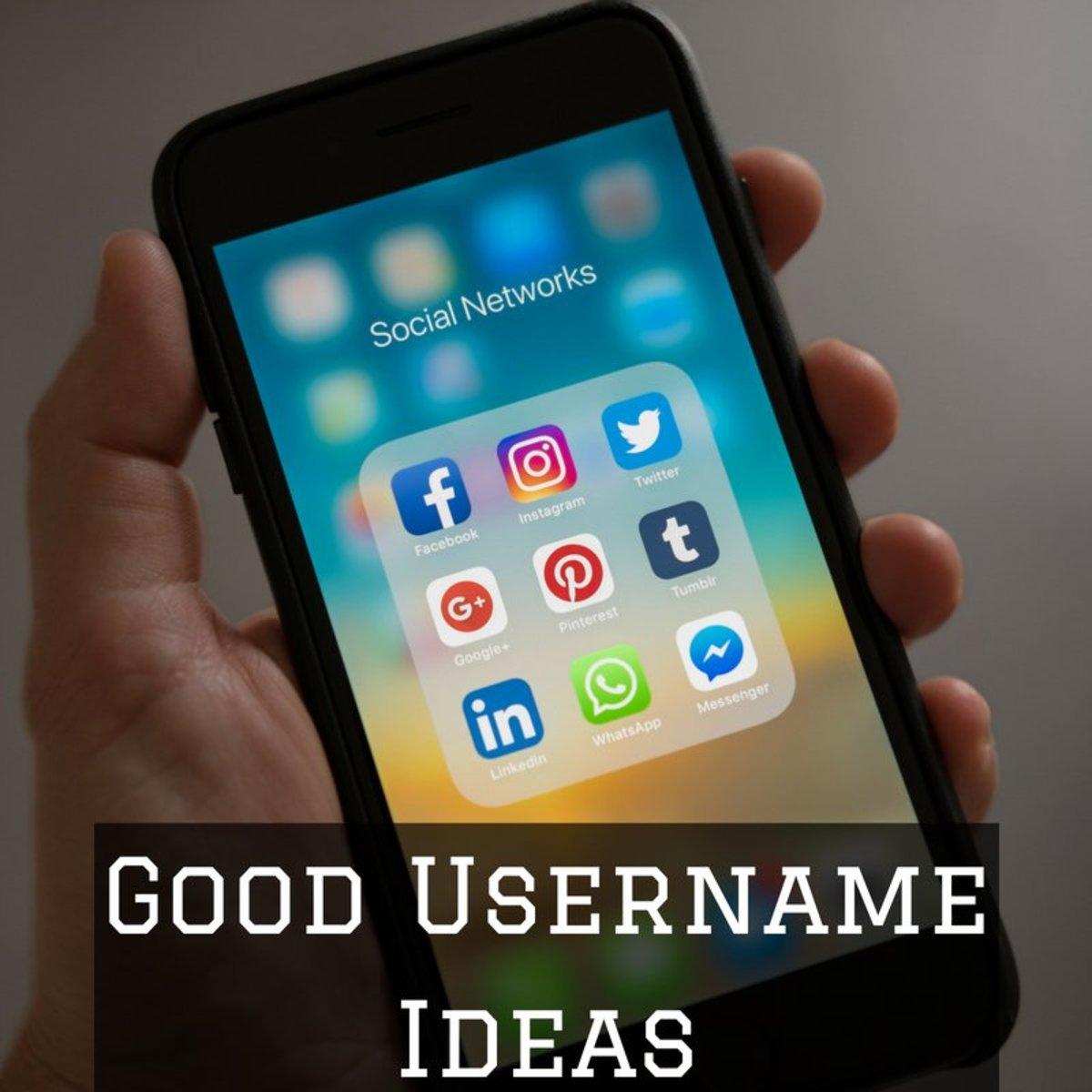 Creative and Cool Usernames