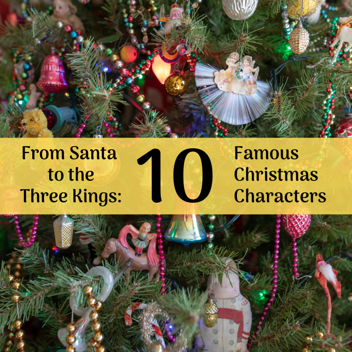 Learn about 10 famous Christmas characters from both religious and popular traditions.