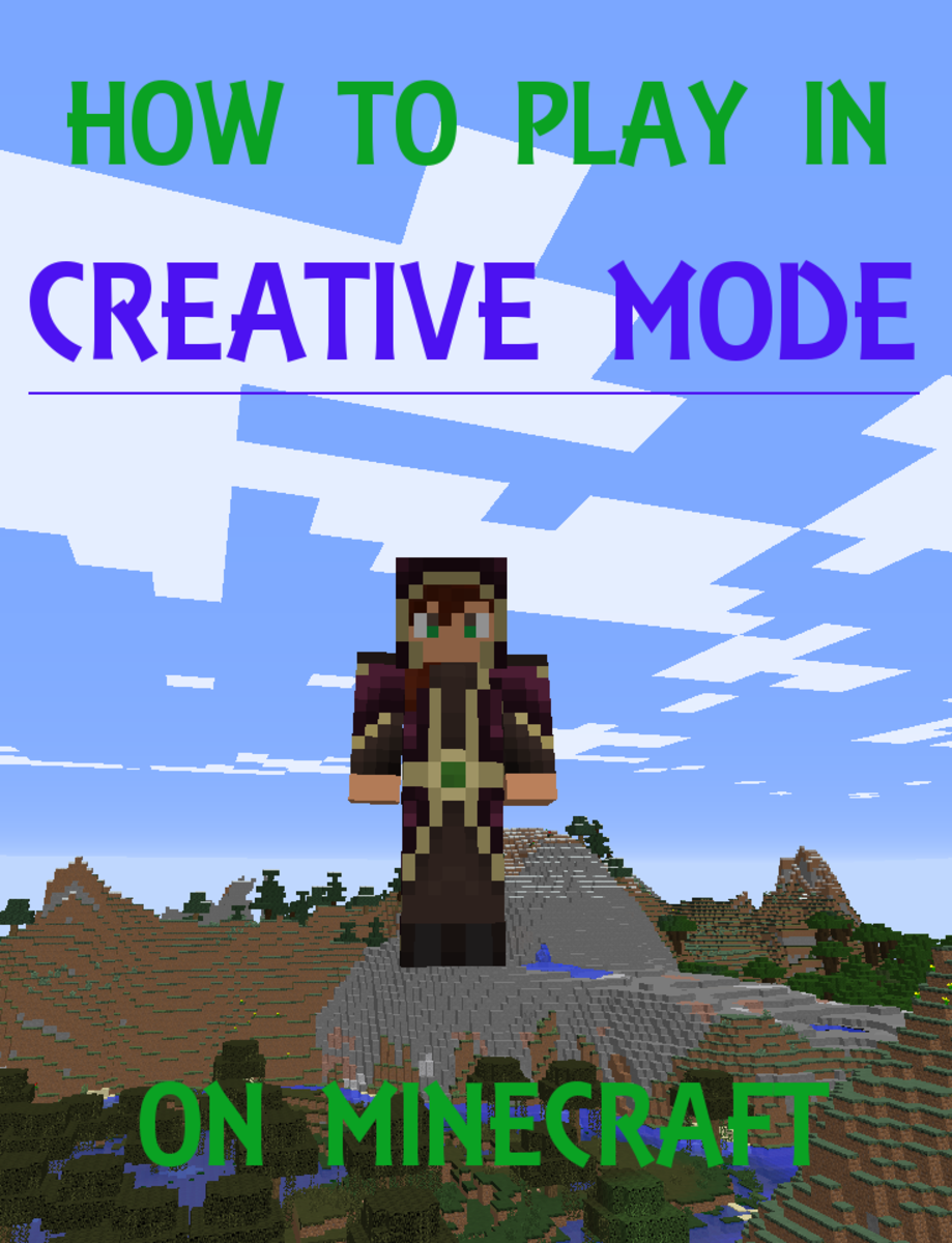 How to Play in Creative Mode on Minecraft